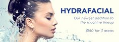 HydraFacial MD® is a non-invasive, multistep treatment that combines the benefits of next-level hydradermabrasion, a chemical peel, automated painless extractions (no pinching!) and a special delivery of Antioxidants, Hyaluronic Acid and Peptides. Led Therapy, Becoming An Esthetician, Glamour Beauty, Spa Deals, Chemical Peel, Spa Services, Cosmetology, Sliders, Facial