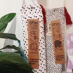 Wee Gallery growth charts back in stock * organic cotton