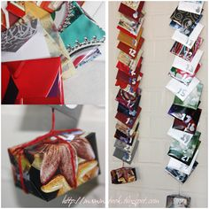 Tea & Infusions upcycled Advent Calendar