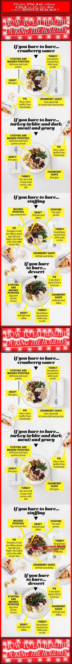 HOW TO EAT HEALTHY DURING THE HOLIDAYS!