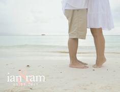 prenup photo of ian and ram photo by yan-yan gervero  #PRENUP #BEACH