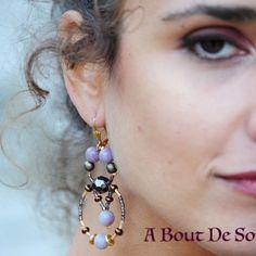 Jewelry Art, Jewelry Design, Feminine Style, Statement Jewelry, Handmade Jewelry, Souffle, Drop Earrings, Artist, Unique