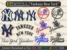 Yankees of new york svg vector equipment baseball for Yankees Baby, Yankees News, New York Yankees, Equipo Milwaukee Brewers, Sports Fanatics, New York Giants, 4 Life, Mlb, Nursing