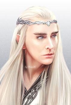 Happy Birthday Lee Pace! Thranduil by 小洗