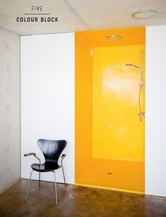 closet, shower, utility space, great idea (turn the hall closet into a shower instead?)