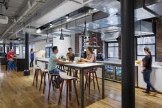 Circo Barstools from Davis Furniture in the Dropbox New York offices - designed by STUDIOS