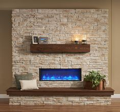 Gallery Collection Built-In Linear Electric Fireplace