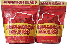 Cinnamon Bears, 16 oz Resealable Bags (Pack of 2) Sweets  #Hot&Spicy  http://www.amazon.com/dp/B00RB7M8I2/ref=cm_sw_r_pi_dp_ZgdYub0RN7VVV