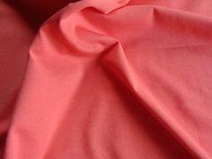 Tissu Jersey Interlock coton bio Flamingo