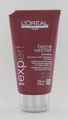 L'Oreal Force Vector Glycocell Reinforcing Anti-Breakage Thermo-Active Treatment 5oz -- Awesome products selected by Anna Churchill