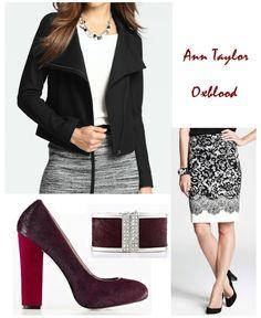 @Ann Taylor Oxblood, board by ATBAB
