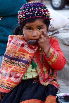 A Face from Ollantaytambo, Peru