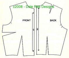 Creating a BJD pattern - Lesson 3 - SD, MSD, Kids