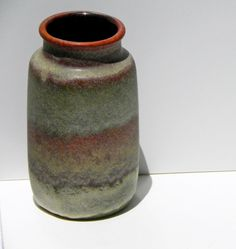 Mid Century West German Fat Lava Scheurich Vase by EdibleComplex, $35.00