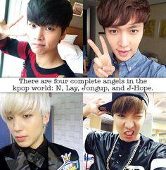 ..N..? Angel? Nonononono xD When someone's the angel, then it's Leo~ :D