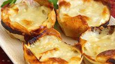 "Muffin Tin Potato Gratin | ""These potatoes are REALLY REALLY GOOD!"""