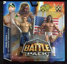 NEW Mattel WWE John Cena & Ultimate Warrior Battle Pack Series 31 action figures - http://bestsellerlist.co.uk/new-mattel-wwe-john-cena-ultimate-warrior-battle-pack-series-31-action-figures/