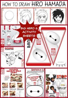 Enjoy these Big Hero 6 activity sheets to print at home, including coloring pages, crafts, games, printables, and more.