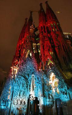 Iluminación Navideña  Barcelona  Catalonia