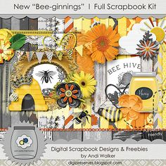 Hello Scrappers and friends. I can't believe it's been over a year since I created anything for the Heck of it. I love to design and share...