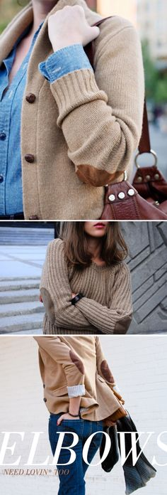 Elbow patches on blazers - yes please!