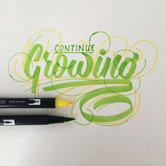 Quick Hand Lettering Without The Long Editing - So many variations of handwriting!
