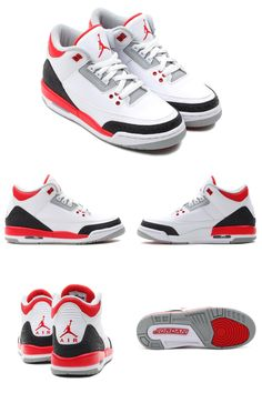 NIKE Air Jordan 3 Fire Red