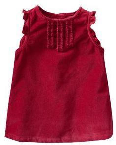 Tillie christmas 12 old navy 2010 red velvet dress crewcuts