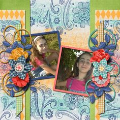 Pictures of my daughter.  Kit used: Lisa Rosa Designs' Gingham Style available at http://withlovestudio.net/shop/index.php?main_page=product_info&cPath=27_188&products_id=4635#.VTxb75M8aig  Template: Sweet Days by Brenian Designs available at http://www.godigitalscrapbooking.com/shop/index.php?main_page=product_dnld_info&cPath=29_377&products_id=24142