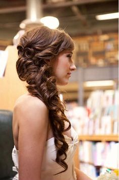 Beautiful Side Hairstyles For Weddings Pictures - Styles & Ideas ...
