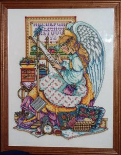 IMPATIENTLY waiting for her to rechart it! Angel of Cross Stitch / Joan Elliott