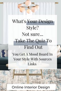 Take the quiz to find out your design style and get a mood board with source links. Interior Design Styles Quiz, Interior Design Services, Design Thinking, Design Innovation, Modern Farmhouse Interiors, Interiors Online, Boho Designs, Eclectic Design, Motion Design
