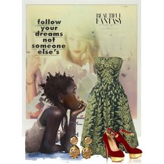 """""""Follow Your Dreams"""" by melange-art on Polyvore"""