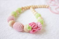 Teething+necklace/+Nursing+necklace+for+Mommy+by+NecklacesForMommy,+$25.00