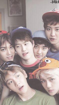 Chanyeol, Suho, Baekhyun, D.O., Sehun and Kai❤️