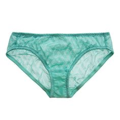 Fortnight Lingerie Vega Low Rise Panty ($17) ❤ liked on Polyvore featuring intimates, panties, lingerie, cyan, see through lingerie, see through pantys, panties lingerie, satin panty and sheer panties