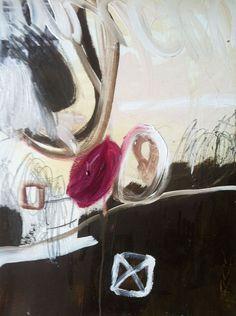 "Saatchi Online Artist: Monique Lovering; Other, 2012, Mixed Media ""Blush"""
