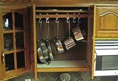 creative ideas organize pots pans storage kitchen pots pans storage kitchen creative ideas organize pans