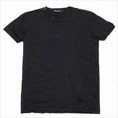 (ドルチェ&ガッバーナ) DOLCE&GABBANA G8U82T G7GZ1 B0665 クルーネック 半袖 Tシャツ ネイビー (並行輸入品) RICHJUNE (50) Dolce&Gabbana(ドルチェ&ガッバーナ) http://www.amazon.co.jp/dp/B015NXRJ3E/ref=cm_sw_r_pi_dp_tlFewb03ZG1RX