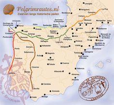 Camino portugues - St jacobsroute / Santiago de Compostela-