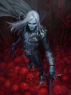 Dark Lord (Ryott, Bloody Warlock) by Pyeong Jun aka Totorrl