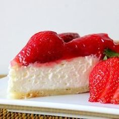 "Two Tier Strawberry Pie | ""This recipe is delicious and super easy! The only change i made was that i used an entire package of cream cheese. YUM!"""