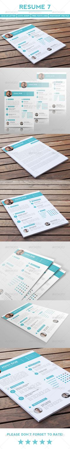 Creative Resume | Cover Letter & Icon Pack | Letter icon, Resume ...