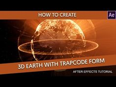 After Effects - 3D Earth Particles | Tuturial by Dope Motions™ - YouTube