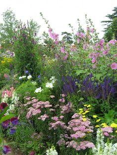 Nach Großmutters Bauerngarten sehnen sich viele Menschen. Die Vorstellung von bunten Sommerblumen zwischen Gemüse- und Kräuterbeeten und dicht mit Früchten behangenen Beerensträuchern rückt den Alltag in weite Ferne.
