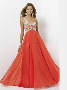 One Shoulder Prom Dress in UK