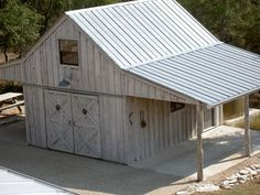 Front porch of Andrea Olsen's Home cute garage idea