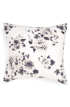 Nordstrom at Home 'Winter Bloom' Euro Sham available at #Nordstrom