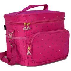 Necessaire Feminina Bolsa Térmica Fitness Pink CBRN08056 0b9545d307b