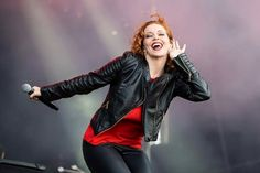 The Gentle Storm stage outfit 2015. With Marcela Bovio's jacket. I love it!